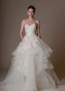 Marchesa свадебное платье пышное