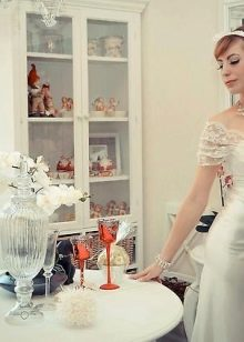 Свадебное платье в стиле французский Прованс