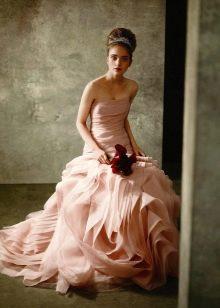 Свадебное платье для второго брака от Вонг