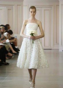 Короткое свадебное платье для второй свадьбы