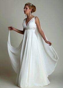 Свадебное платье для второго брака ампир