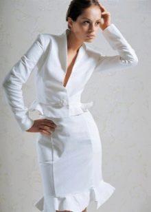 Свадебный костюм юбочный