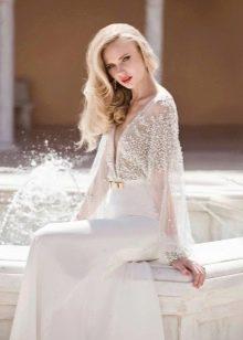 Элегантное свадебное платье для второго брака