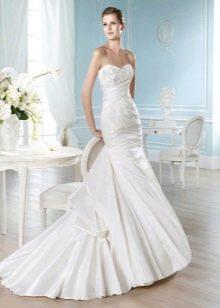 Свадебное платье русалочка со шлейфом