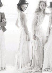 Кружевные свадебные платья в стиле бохо