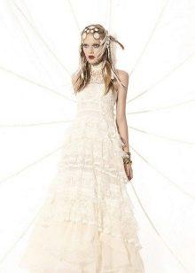 Розовое свадебное платье YolanCris