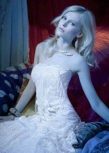 Облегающее свадебное платье в стиле YolanCris