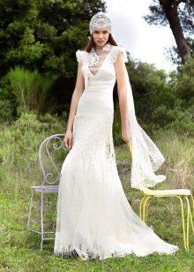 Свадебное платье бохо от YolanCris