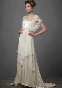 Платье свадебное бохо BHLDN