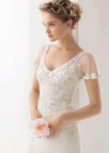 Рукава свадебного платья из органзы
