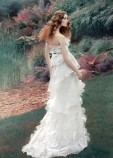 Свадебное платье от Алены Горецкой