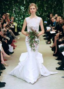 Свадебное платье от Каролина Эррера