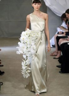 Свадебное платье в стиле ампир от Каролина Эррера