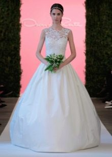 Пышное свадебное платье от Oscar de la Renta