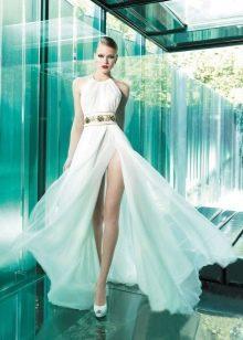 Свадебное платье от YolanCris с разрезом