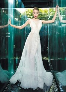 Свадебное прозрачное платье от YolanCris