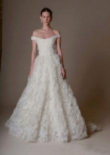 Пышное свадебное платье MARCHESA