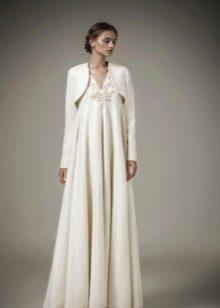 Вечернее платье ампир с болеро