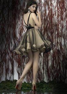 Вечернее платье беби дол