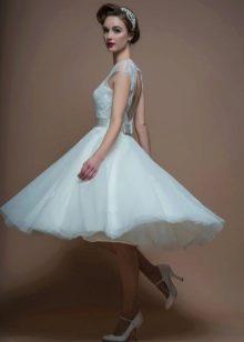 Диадема к короткому свадебному платье