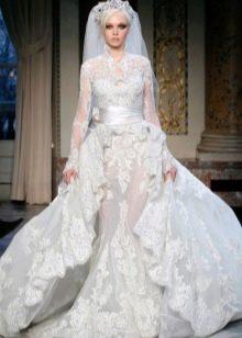 Свадебное мусульманское платье Зухаира Мурада