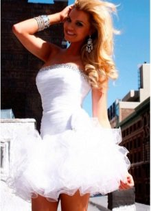 Свадебное платье-пачка