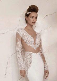 Свадебное открытое платье от Lior Charchy