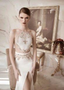 Свадебное платье от Lior Charchy открытое