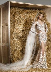 Свадебное откровенное платье от Зухаира Мурада