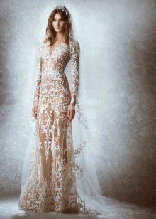 Откровенное свадебное платье Зухаира Мурада