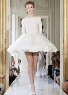 Свадебное платье пачка