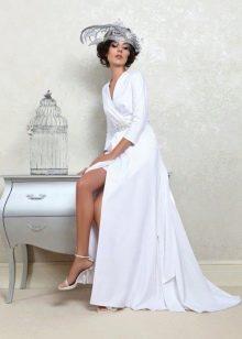 Свадебное платье с разрезом от Татьяна Каплун