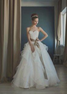 Пышное свадебное платье от Natasha Bovykina