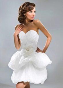 Короткое свадебное платье от Анна Богдан