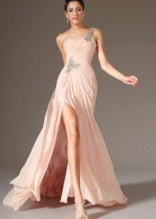 Свадебное вечернее платье в греческом стиле