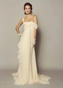 Свадебное летнее платье в греческом стиле