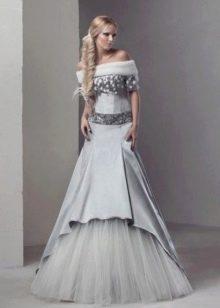 Свадебное платье от дизайнеров в русском стиле