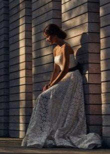 Свадебное платье в стиле рустик от Vesssna