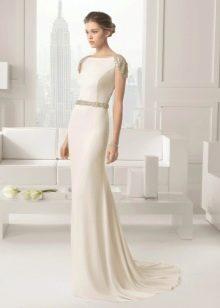 Свадебное скромное платье