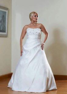 Свадебное платье для полных блондинок