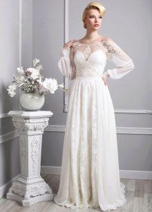 Свадебное платье от Васильков с ажуром