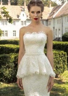 Свадебное платье от Armonia с баской