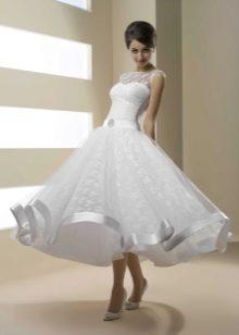 Свадебное платье от Хадаса миди