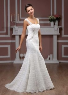 Свадебное платье от Хадаса со стразами