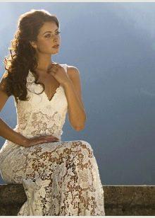 Свадебное платье от Хадаса ажурное