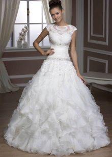 Свадебное платье от Хадаса пышное