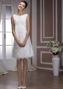Свадебное платье от Хадаса короткое