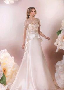 Свадебное платье от Стрекоза с баской