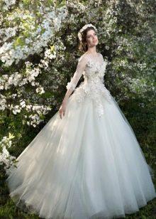 Свадебное платье от Стрекоза пышное