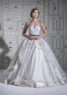 Свадебное платье пышное от  Chrystelle Atallah